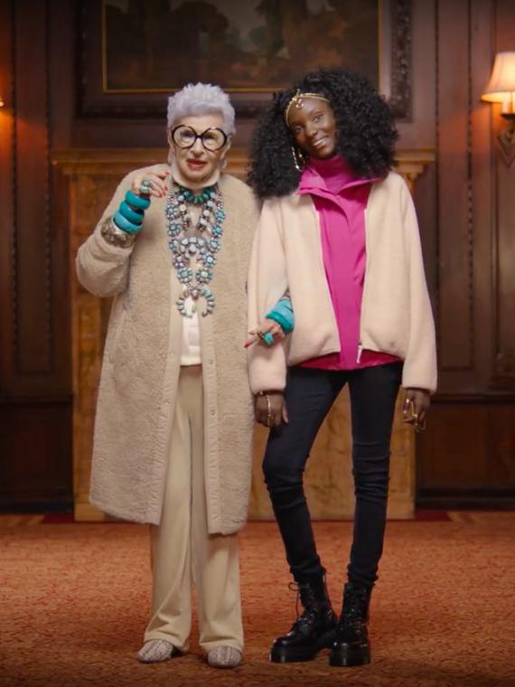 Salt: главное здесь, остальное по вкусу - 98-летняя Айрис Апфель снялась в новой рекламной кампании UNIQLO
