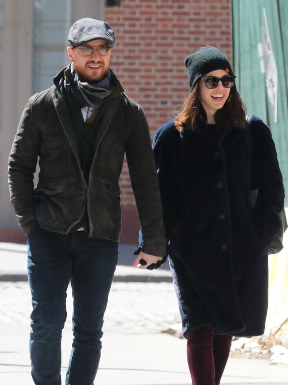 Salt: главное здесь, остальное по вкусу - СМИ: Джеймс МакЭвой и Лиза Либерати сыграли тайную свадьбу