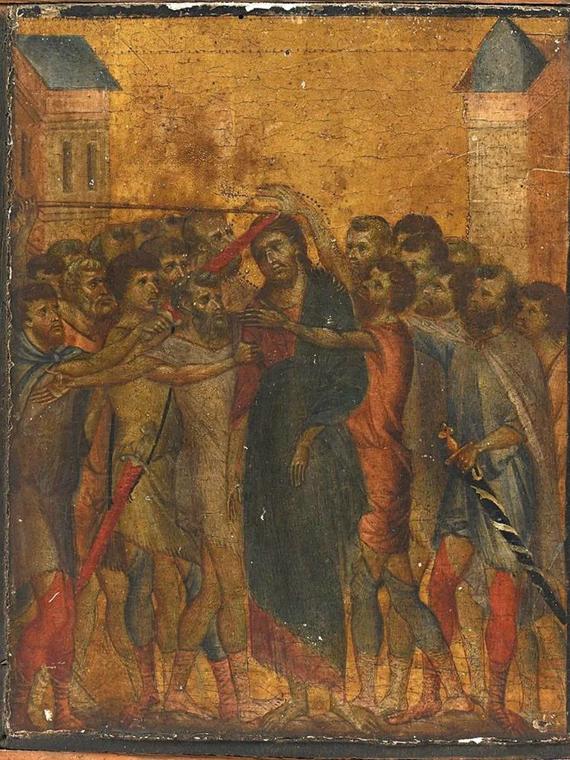 Salt: главное здесь, остальное по вкусу - Картину эпохи Проторенессанса, найденную во Франции, продали за €24 миллиона