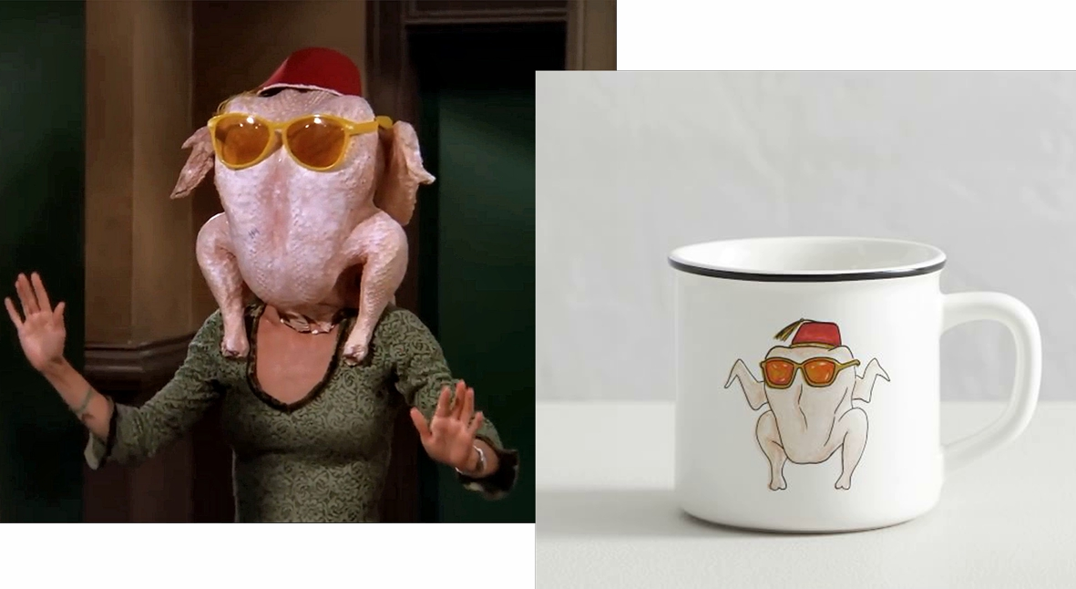 Salt: главное здесь, остальное по вкусу - Драный кот и Моника-индейка: Pottery Barn расширяет коллекцию, посвященную сериалу «Друзья»