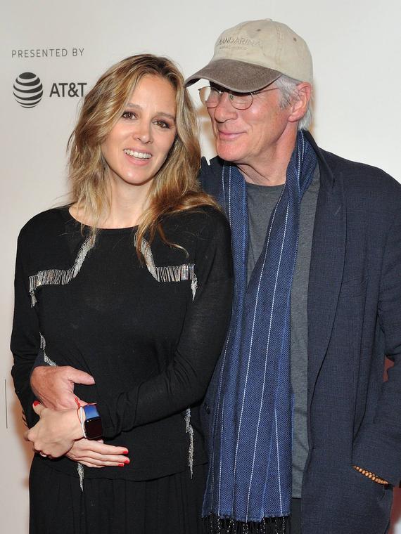 Salt: главное здесь, остальное по вкусу - СМИ: Ричард Гир и Алехандра Сильва вновь станут родителями