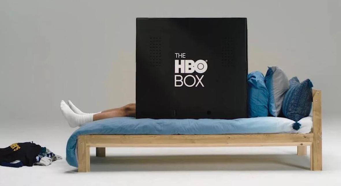 Salt: главное здесь, остальное по вкусу - HBO выпустил черную картонную коробку — в ней можно смотреть сериалы в одиночестве