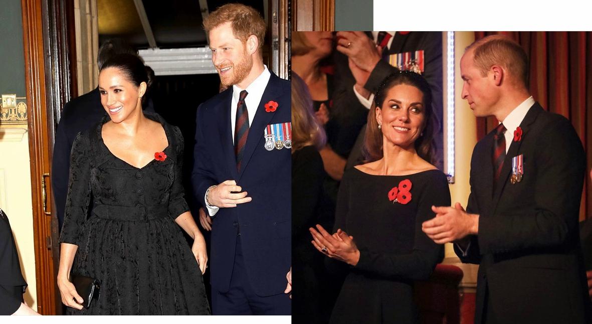 Salt: главное здесь, остальное по вкусу - Кейт Миддлтон и Меган Маркл с мужьями, Елизавета II посетили Фестиваль памяти в Альберт-холле