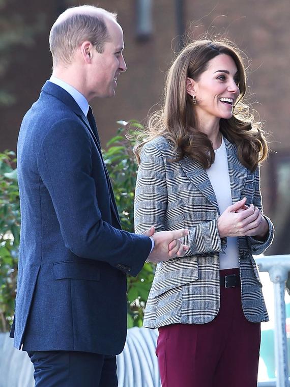 Salt: главное здесь, остальное по вкусу - Кейт Миддлтон и принц Уильям провели встречу с волонтерами в Лондоне
