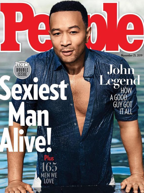 Salt: главное здесь, остальное по вкусу - Джон Ледженд стал самым сексуальным мужчиной года по версии журнала People