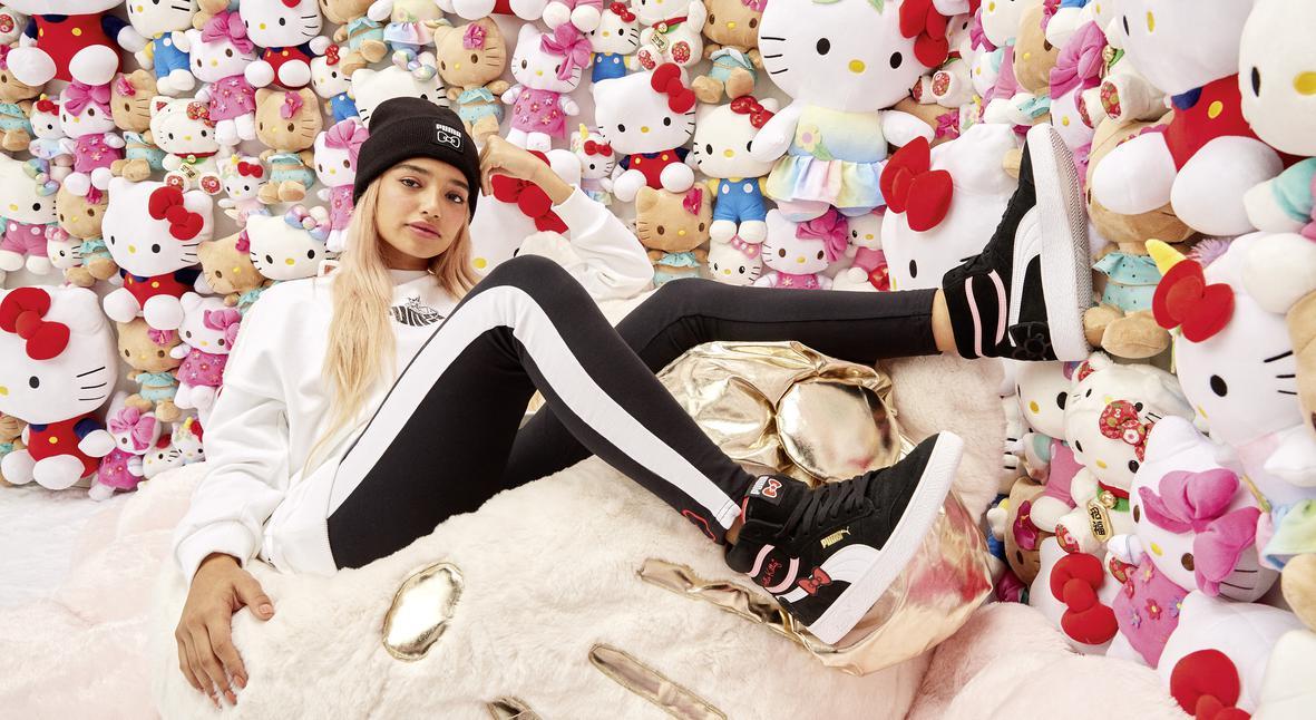 Salt: главное здесь, остальное по вкусу - Puma представили новую коллекцию в честь 45-го дня рождения Hello Kitty