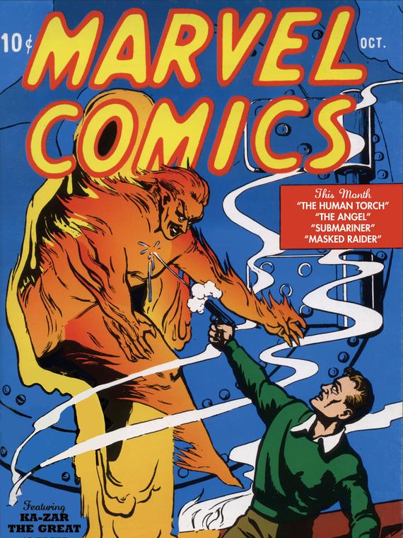 Salt: главное здесь, остальное по вкусу - Самый первый комикс Marvel продали за рекордные $1,26 миллиона