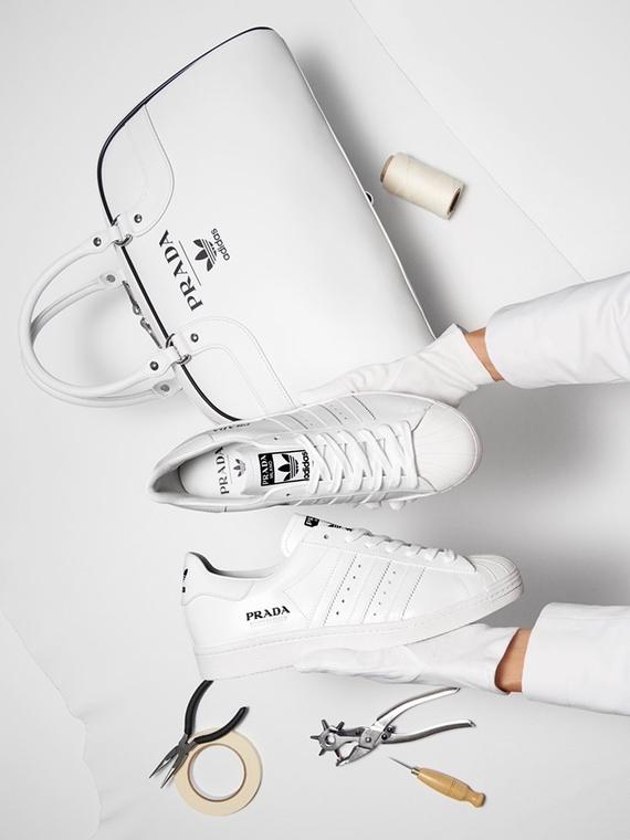 Salt: главное здесь, остальное по вкусу - Кроссовки и сумка: Prada и adidas показали первые вещи из совместной коллекции