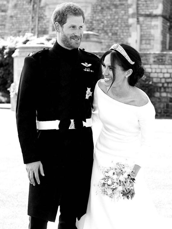 Salt: главное здесь, остальное по вкусу - Меган Маркл и принц Гарри поделились новым снимком со свадьбы