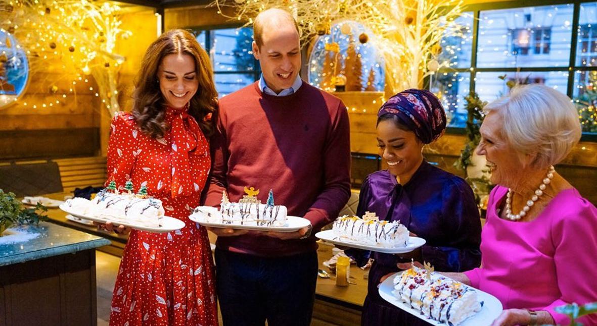 Salt: главное здесь, остальное по вкусу - Кейт Миддлтон и принц Уильям снялись в рождественском кулинарном шоу