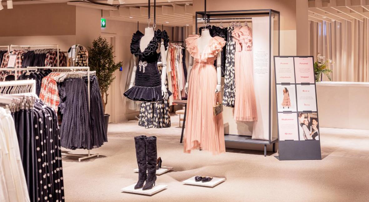 Salt: главное здесь, остальное по вкусу - Флагманский магазин H&M в Стокгольме теперь предлагает взять одежду в аренду