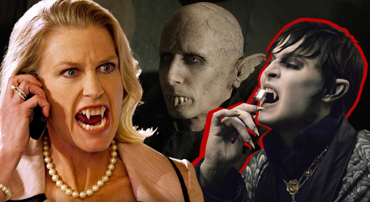 Salt: главное здесь, остальное по вкусу - Покажите зубы: как менялись вампирские клыки в кино