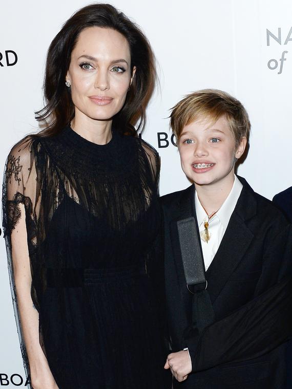 Salt: главное здесь, остальное по вкусу - СМИ: 13-летняя дочь Анджелины Джоли Шайло поменяла имя на мужское