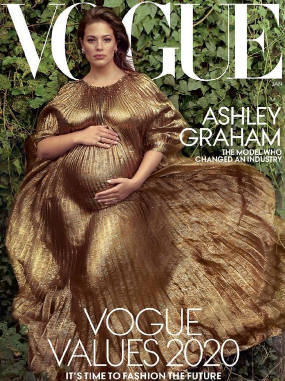 Salt: главное здесь, остальное по вкусу - Эшли Грэм снялась для обложки Vogue и рассказала о проблемах в сексе из-за беременности