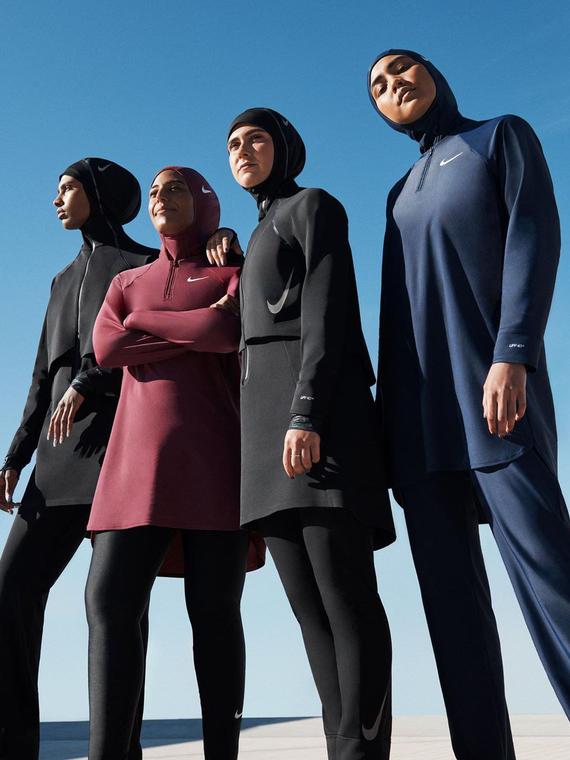 Salt: главное здесь, остальное по вкусу - Nike представили коллекцию закрытых купальных костюмов для мусульманок