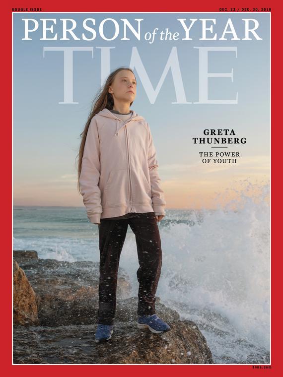 Salt: главное здесь, остальное по вкусу - Грета Тунберг — человек года по версии журнала Time