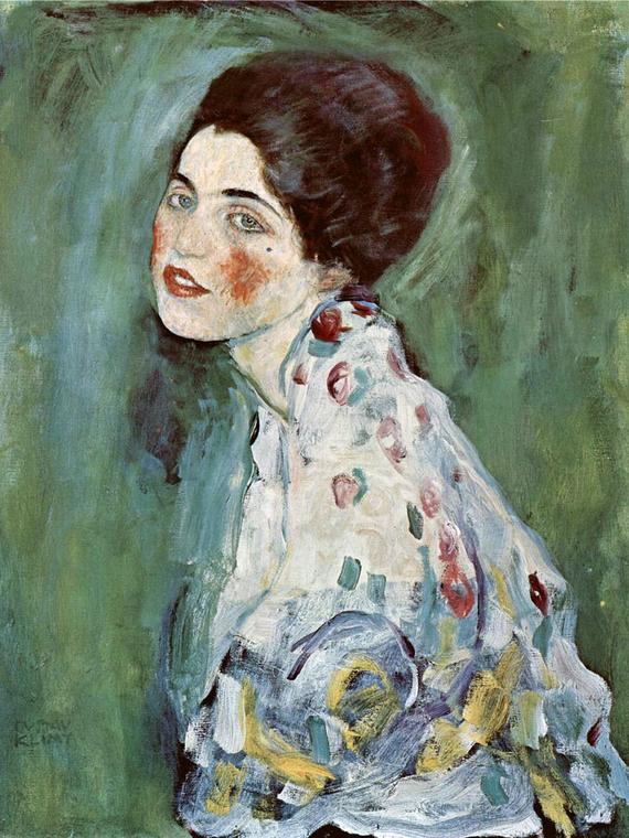 Salt: главное здесь, остальное по вкусу - Картину Густава Климта обнаружили в стене музея — ее похитили из него 22 года назад