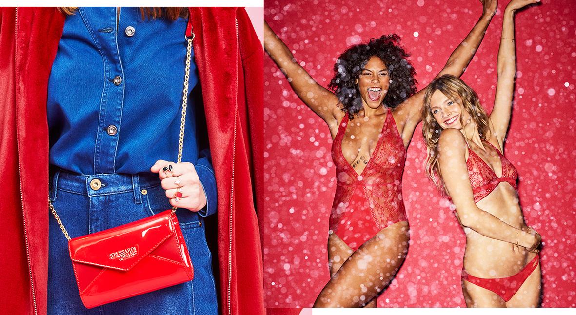 Salt: главное здесь, остальное по вкусу - Красный — цвет праздника: новогодняя подборка одежды от Etam, Marc Cain, Trussardi и Woolrich