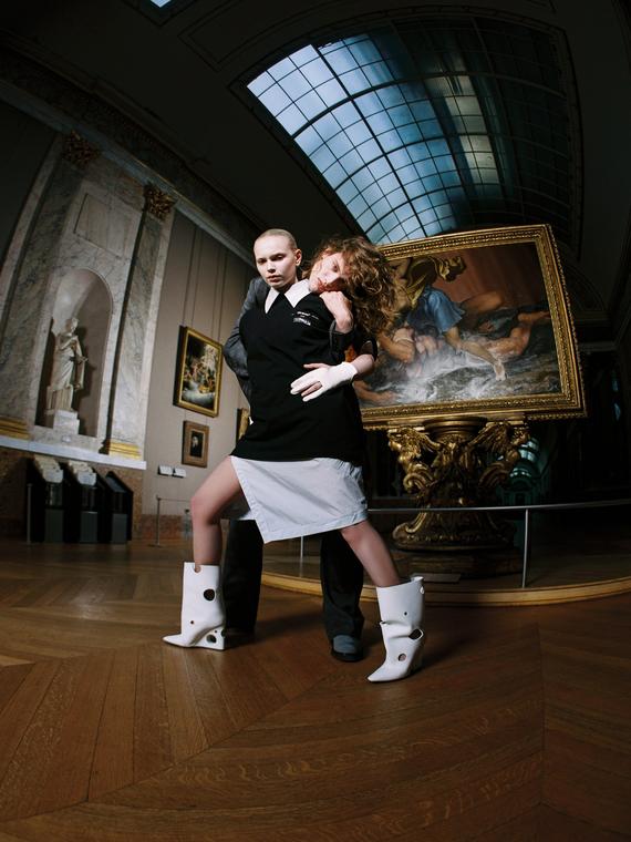 Salt: главное здесь, остальное по вкусу - Off-White сделали коллаборацию с Лувром в честь выставки Леонардо да Винчи