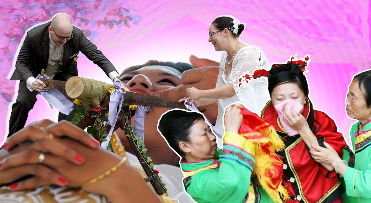 Salt: главное здесь, остальное по вкусу - Танцы в вязаных носках, спиливание зубов и четырехнедельный плач невесты: самые безумные свадебные традиции мира