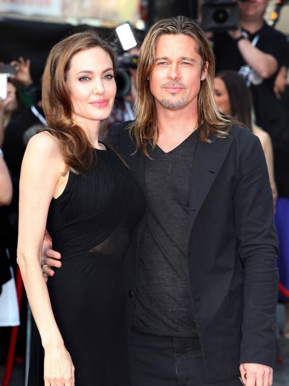 Salt: главное здесь, остальное по вкусу - Анджелина Джоли и Брэд Питт официально развелись