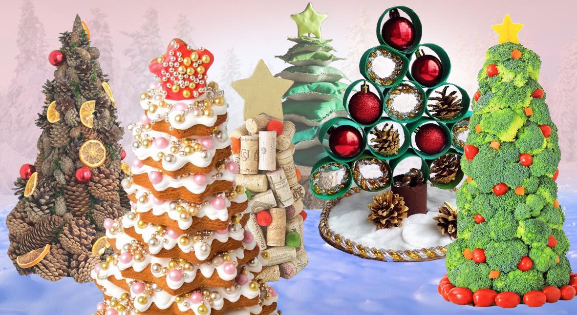 Salt: главное здесь, остальное по вкусу - 10 идей необычных новогодних елок для тех, кто заботится об экологии