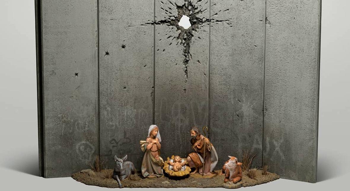 Salt: главное здесь, остальное по вкусу - «Вифлеемский шрам»: Бэнкси представил новую работу на тему Рождества