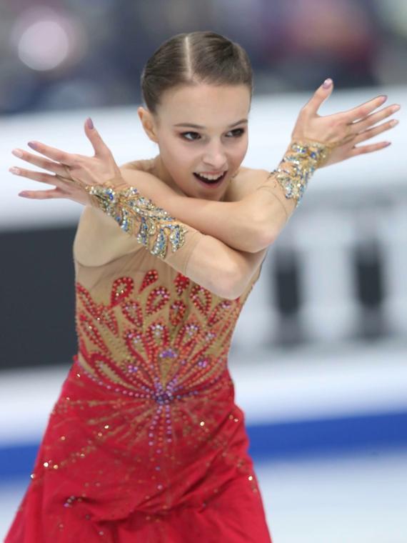 Salt: главное здесь, остальное по вкусу - Анна Щербакова стала двукратной чемпионкой России по фигурному катанию