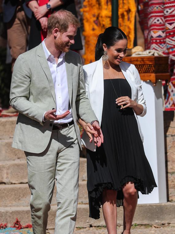 Salt: главное здесь, остальное по вкусу - Принц Гарри и Меган Маркл могут отказаться от королевского титула для ребенка