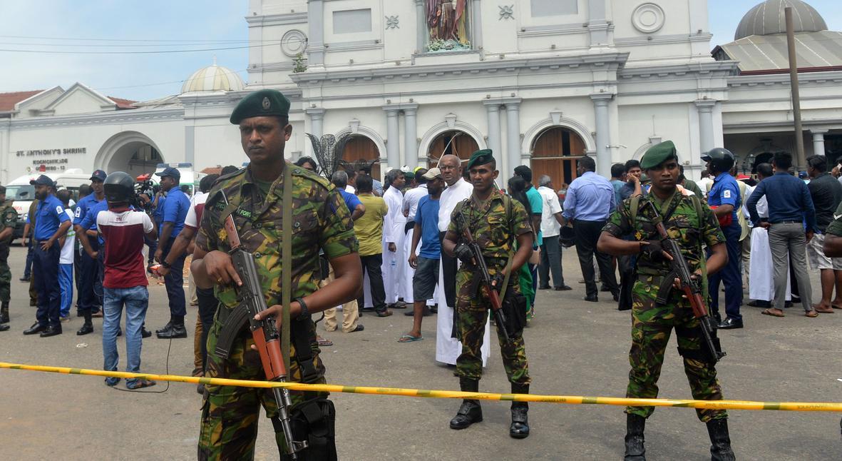 Salt: главное здесь, остальное по вкусу - В столице Шри-Ланки произошел восьмой взрыв