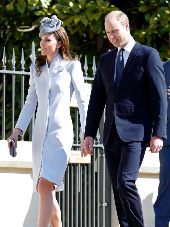 Salt: главное здесь, остальное по вкусу - Кейт Миддлтон и принц Уильям на Пасхальной службе в день рождения Елизаветы II