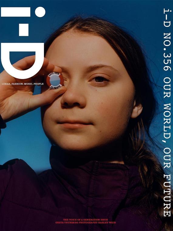Salt: главное здесь, остальное по вкусу - Школьница-активистка Грета Турнберг появилась на обложке i-D