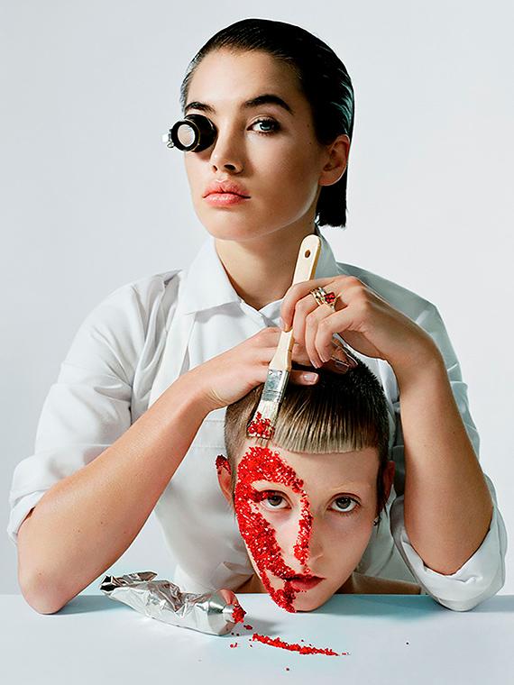 Salt: главное здесь, остальное по вкусу - Исамайя Френч: что нужно знать о новой визажистке Christian Louboutin