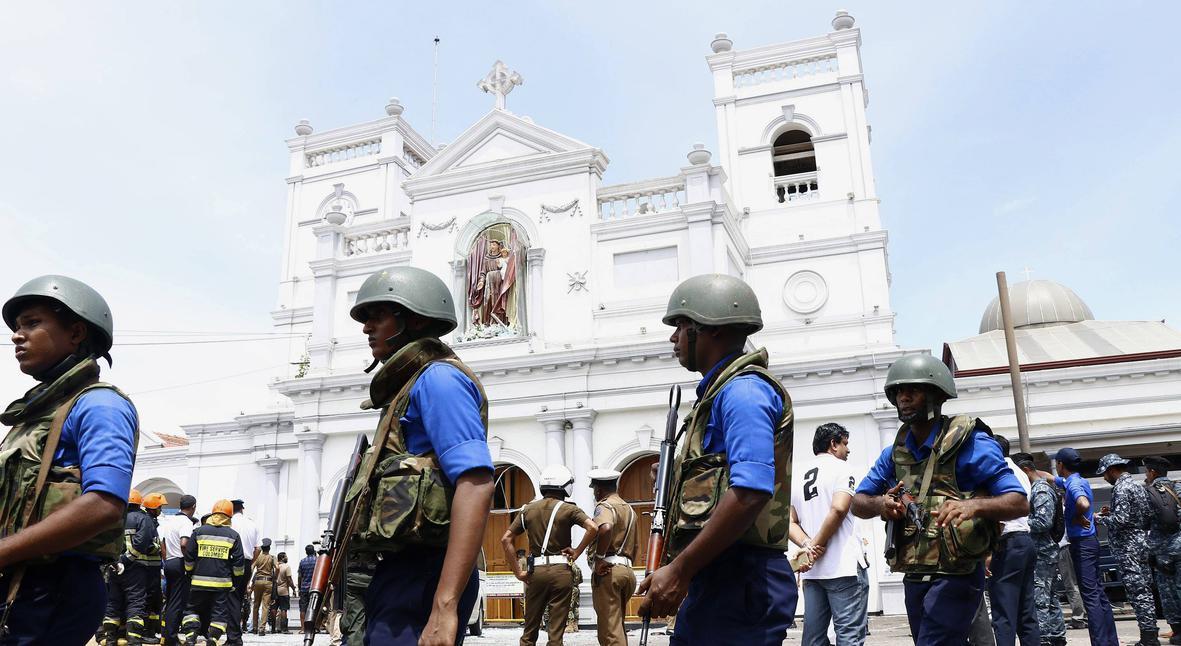Salt: главное здесь, остальное по вкусу - ИГ взяло на себя ответственность за теракты на Шри-Ланке