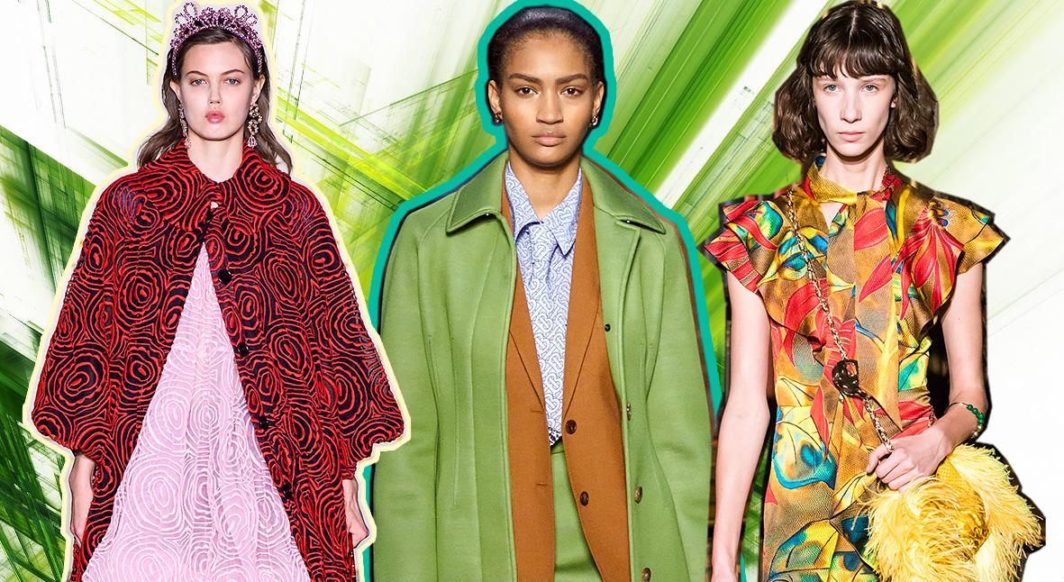 Salt: главное здесь, остальное по вкусу - Цветы, пижамы и короны: главные показы Недели моды в Лондоне