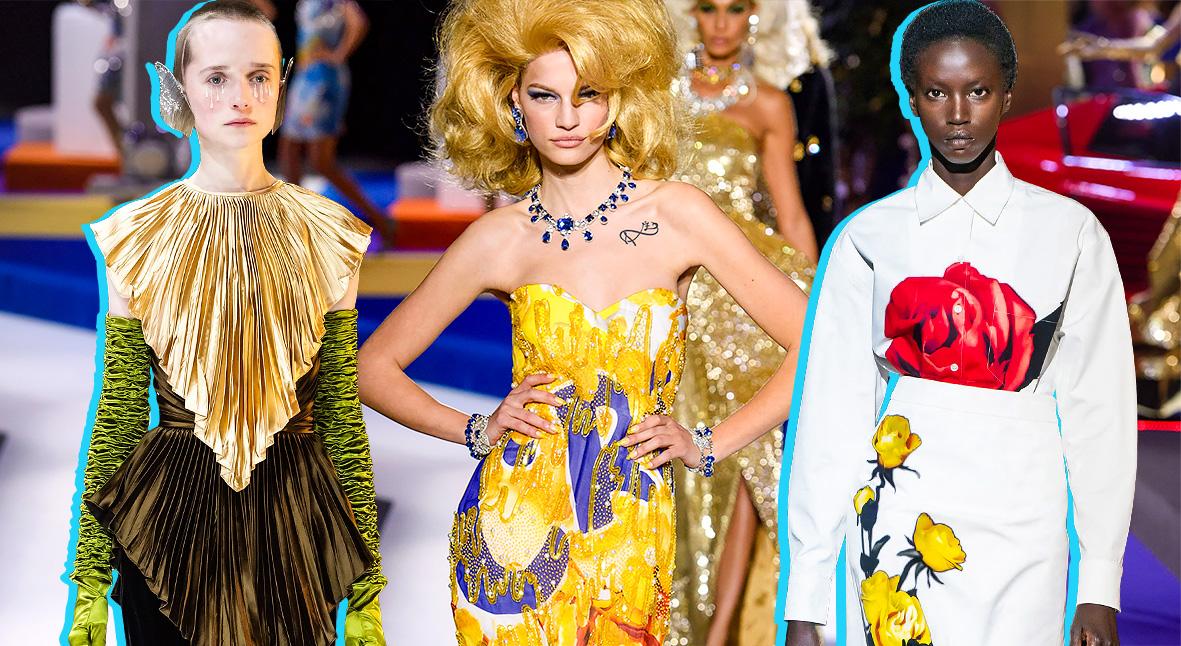 Salt: главное здесь, остальное по вкусу - Маски, вестерн и невеста Франкенштейна: главные показы Недели моды в Милане