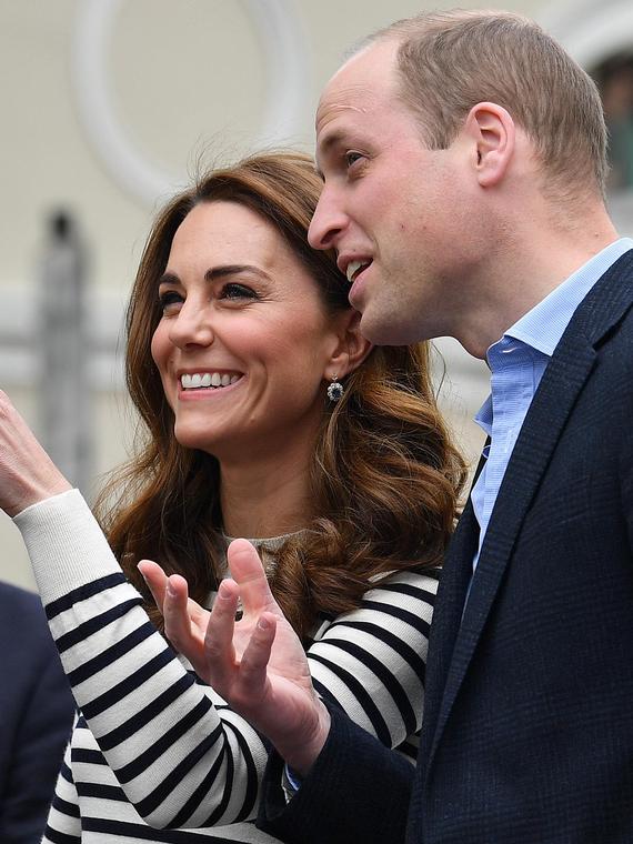 Salt: главное здесь, остальное по вкусу - Кейт Миддлтон и принц Уильям открыли парусную регату и прокомментировали рождение племянника
