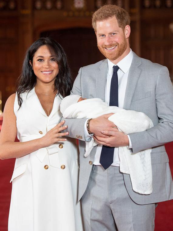 Salt: главное здесь, остальное по вкусу - Меган Маркл и принц Гарри показали новорожденного сына