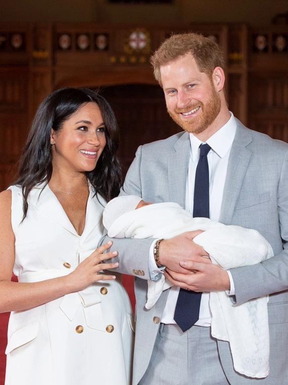 Salt: главное здесь, остальное по вкусу - Меган Маркл и принц Гарри решили не присваивать титулы сыну
