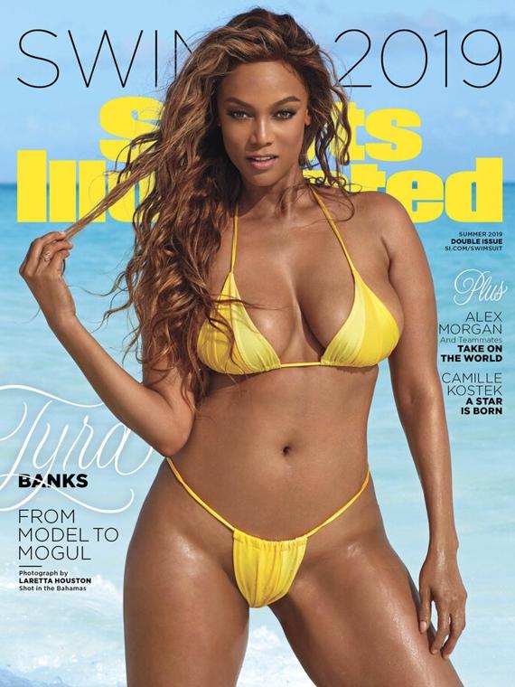 Salt: главное здесь, остальное по вкусу - 20 лет спустя: Тайра Бэнкс вернулась на обложку Sports Illustrated Swimsuit