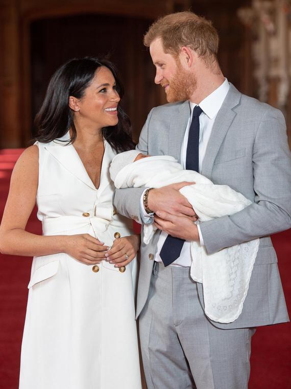 Salt: главное здесь, остальное по вкусу - Меган Маркл и принц Гарри поделились трогательной фотографией сына