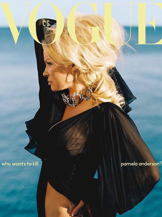 Salt: главное здесь, остальное по вкусу - Памела Андерсон впервые снялась для обложки Vogue