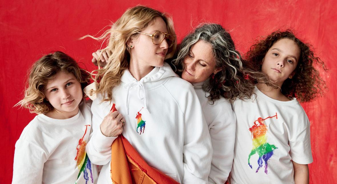 Salt: главное здесь, остальное по вкусу - Ralph Lauren выпустил коллекцию Pride в поддержку ЛГБТ-сообщества