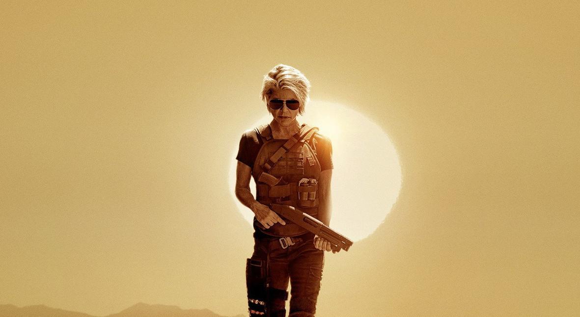 Salt: главное здесь, остальное по вкусу - Сара Коннор возвращается: первый постер «Терминатора: Темные судьбы»
