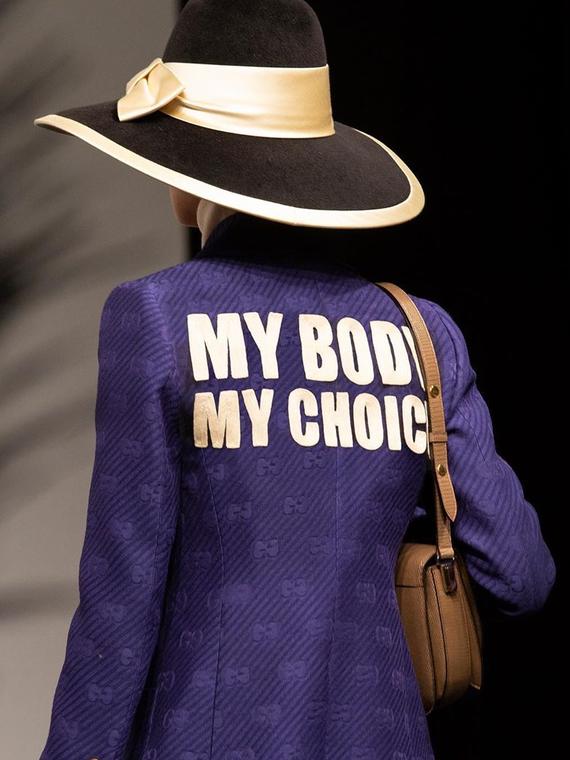 Salt: главное здесь, остальное по вкусу - Алессандро Микеле выступил против запрета абортов в новой коллекции Gucci Resort 2020