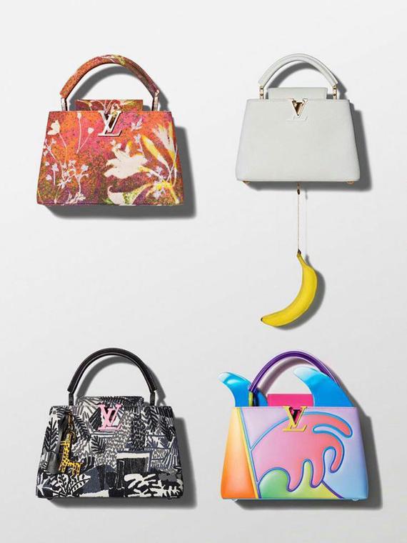 Salt: главное здесь, остальное по вкусу - Louis Vuitton создали коллекцию сумок в коллаборации с художниками