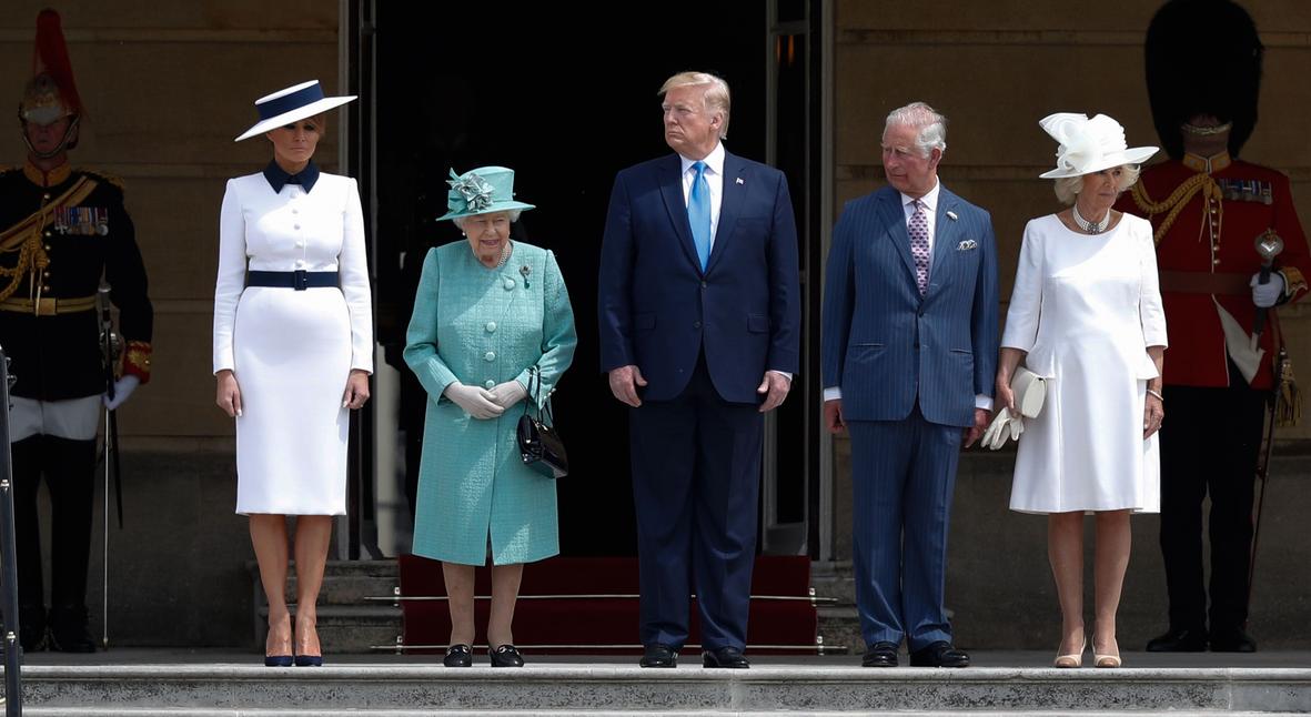 Salt: главное здесь, остальное по вкусу - Дональд Трамп встретился с королевой Елизаветой II