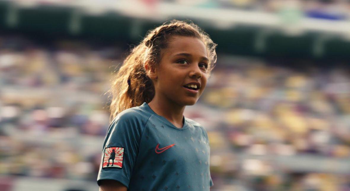 Salt: главное здесь, остальное по вкусу - «Мечтай о большем»: Nike выпустил ролик о женском футболе
