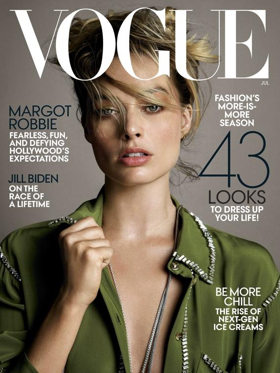 Salt: главное здесь, остальное по вкусу - «Я не секс-символ»: Марго Робби в июльском выпуске Vogue