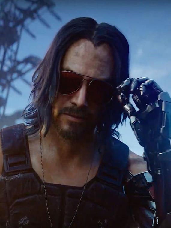 Salt: главное здесь, остальное по вкусу - Кибер-гитарист: Киану Ривз стал персонажем видеоигры Cyberpunk 2077